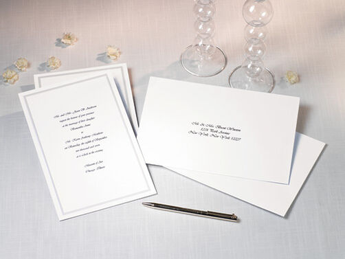 Single Border Invitation Kit