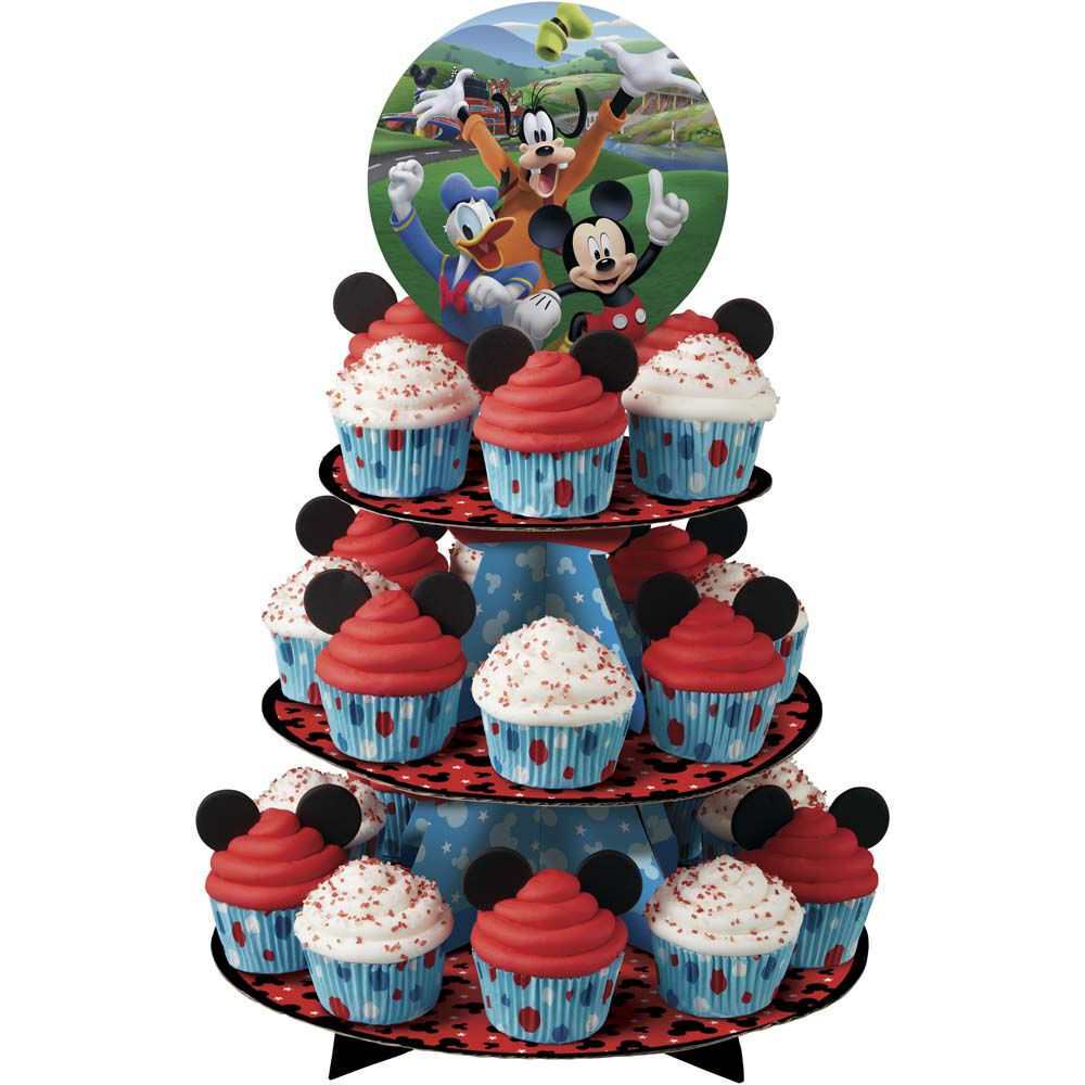Mickey And The Roadster Racers Cupcake Stand Wilton