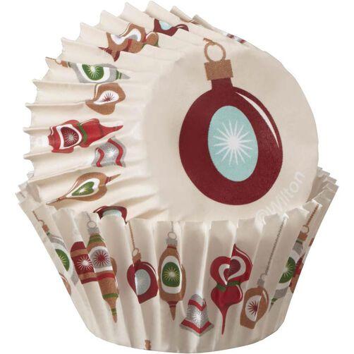 Christmas Holiday Sweet Swap Mini Baking Cups