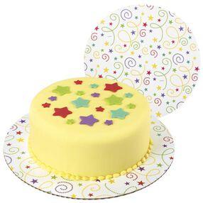 Party Swirl Fashion Cake Boards