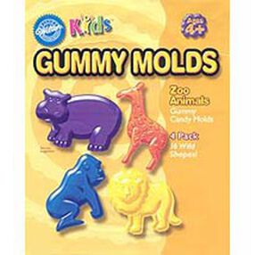 Zoo Animals Gummy Candy Mold