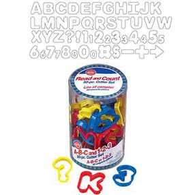 A-B-C and 1-2-3 Cutter Set