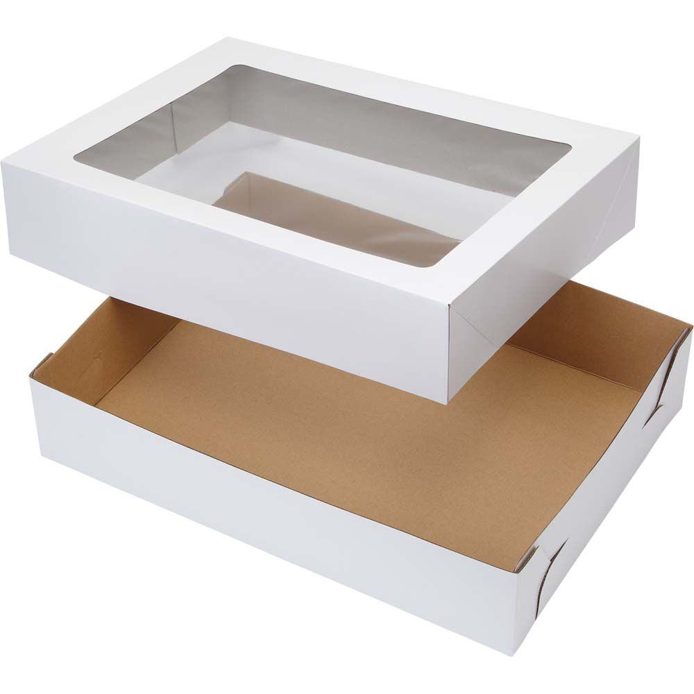 19x14 Corrugated Window Cake Boxes Wilton