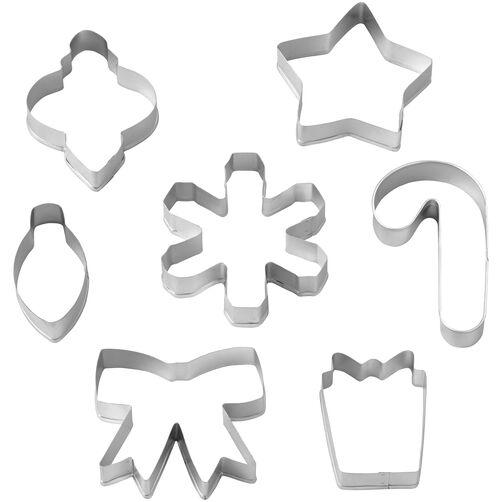 7-Piece Assorted Christmas Cookie Cutter Set