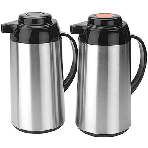 Brushed Stainless Steel Carafe Set
