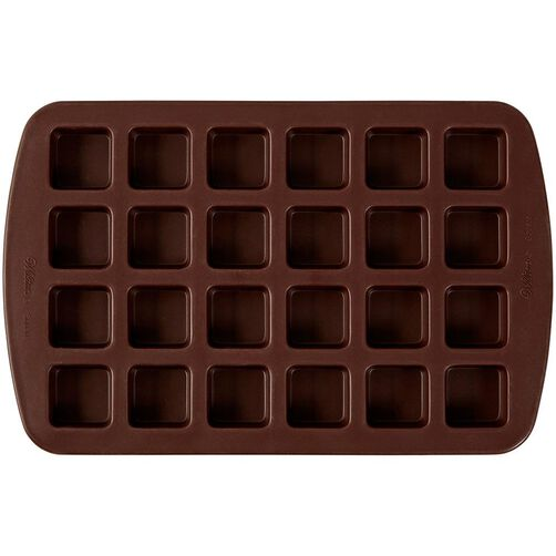 Bite-Size Brownie Squares 24-Cavity Silicone Mold