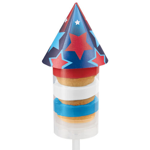 Treat Pops Toppers Rocket