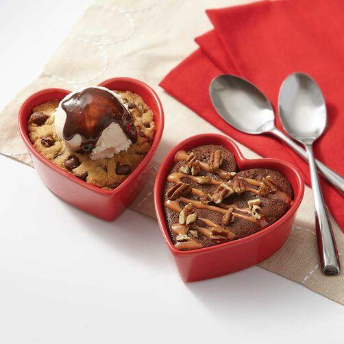 Heart Ramekin Set