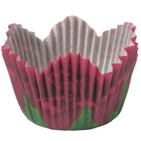Mini Red Rose Petal Baking Cups