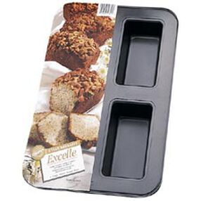 Excelle Premium Non-Stick 4 Cup Mini Loaf Pan