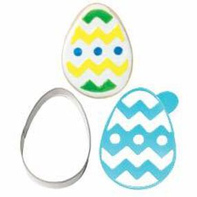 Easter Egg Stencil-A-Cookie
