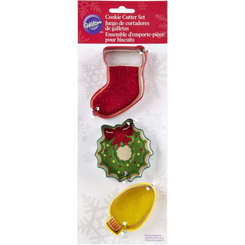 Wilton Christmas Mantel Cookie Cutter Set