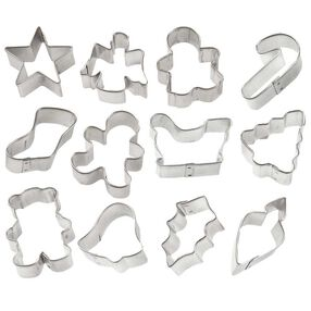 Holiday Mini Metal Cutter Set