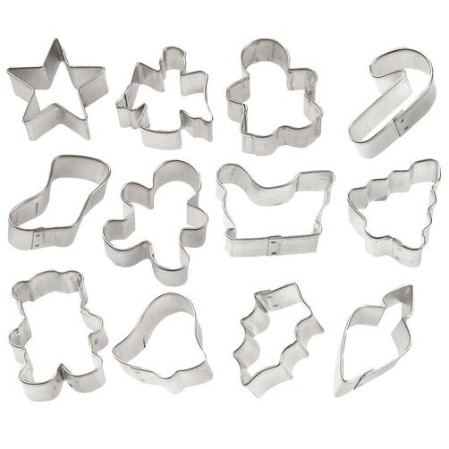 Holiday Mini Metal Cutter Set