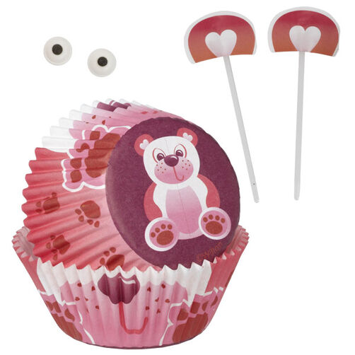 Valentine Bear Cupcake Decorating Kit