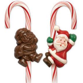 Santa Claus Candy Cane Mold
