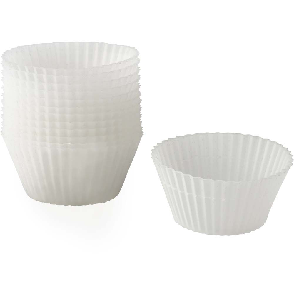 Clear Silicone Cupcake Liners Wilton
