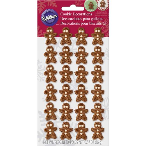 Mini Gingerbread Icing Decorations