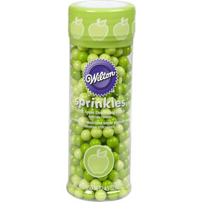 Green Apple Flavored Sugar Pearl Sprinkles