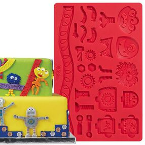 Wilton Robots and Monsters Fondant and Gum Paste Mold 409-2559