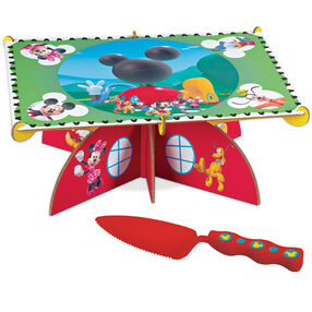Disney Mickey Mouse Clubhouse Cake Stand with Server