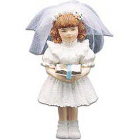Communion Girl Cake Topper