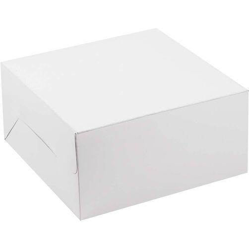 """10x10x5"""" Plain Cake Box"""
