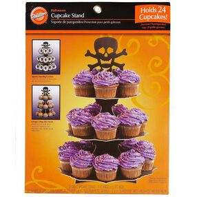 Skulls and Scrolls Cupcake Stand