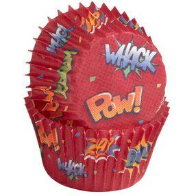 Wilton ?Pow? Bursts Mini Baking Cups, 100 Ct. 415-2280