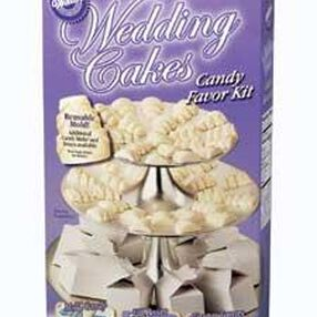 Wedding Cakes Candy Favor Kit