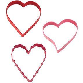 Hearts Cutter 3pc. Set