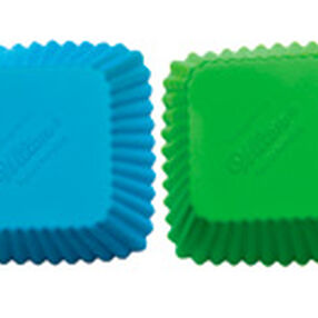 Square Silicone Cupcake Liners