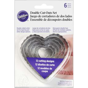 Heart Fondant Cut-Outs Set