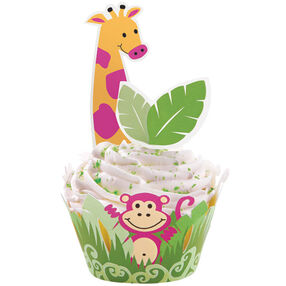 Jungle Pals Cupcake Wraps'n Pix