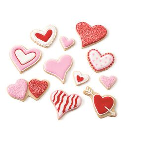 Wilton Valentine?s Heart Cookie Cutter Set, 7-Pc.