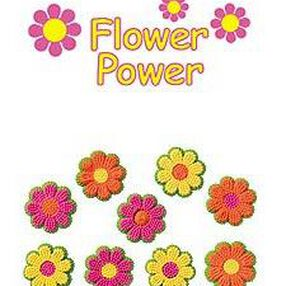 Flower Power Icing Decorations