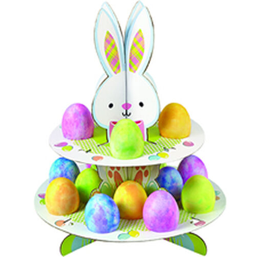 Hop & Tweet Easter Bunny Egg and Treat Stand