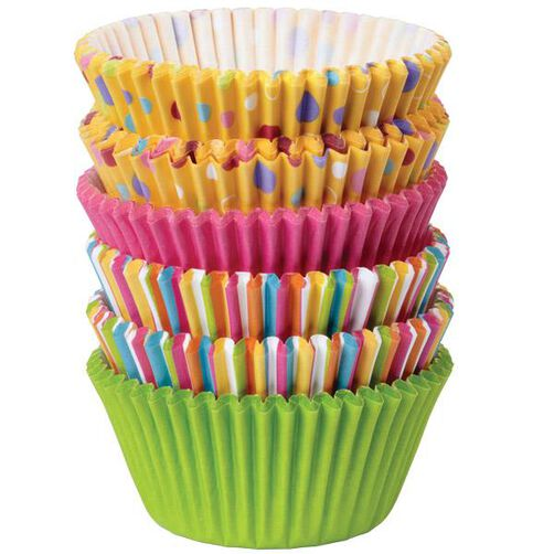 Sweet Dots & Stripes Cupcake Liners