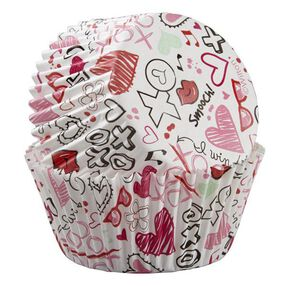 Wilton Valentine?s Day Doodles Baking Cups, 75-Ct.