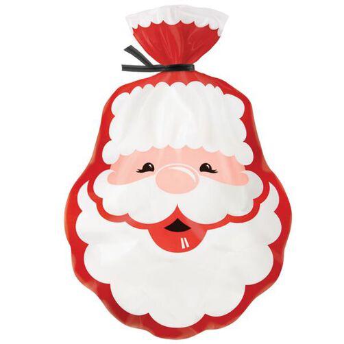 Santa Shaped Party Bag