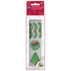 Tree & Wreath Candy Decorations