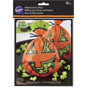 Wilton Jack-o'-Lantern Halloween Treat Bags