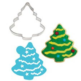 Tree Stencil-A-Cookie