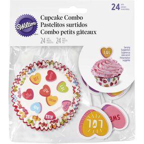 Conversation Hearts Cupcake Decorating Kit
