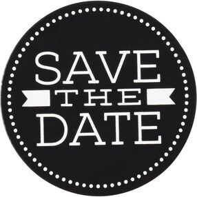 Wilton Save the Date Stickers