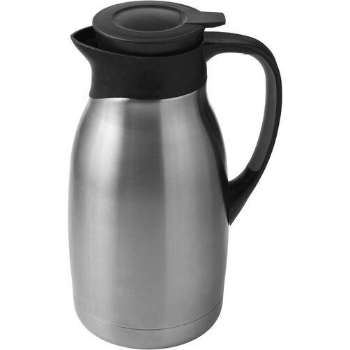 Thermal Capacity Brushed Stainless Steel Carafe
