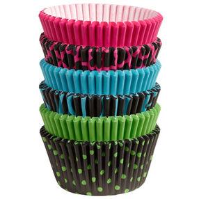 Dark Neon Cupcake Liners