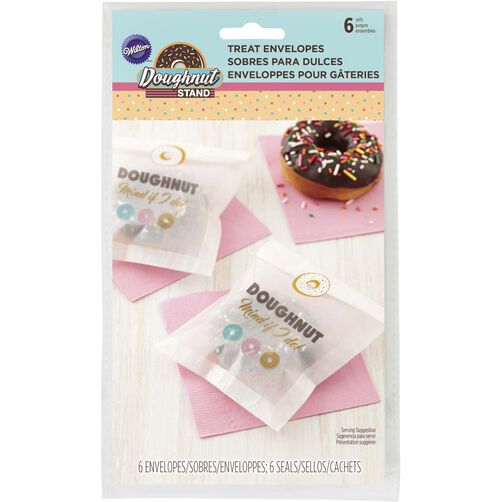 Donut Stand Treat Envelopes