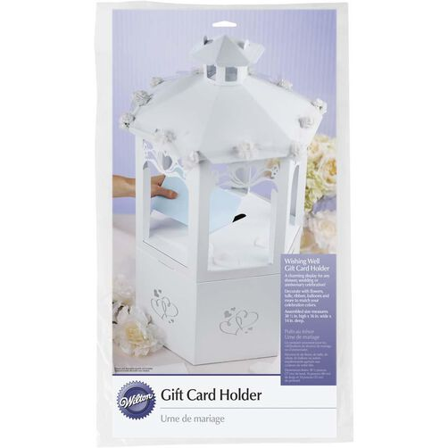 Wishing Well Gift Card Holder in packaging