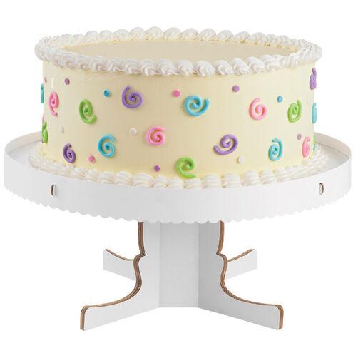 Round Pedestal Cake Stand